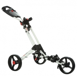 Dunlop 1 Click Golf Trolley (White frame)