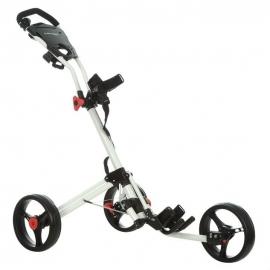 Dunlop 2 Click Golf Trolley (white frame)