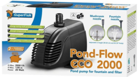 PUMP, Pond-Flow eco 2000ltr.
