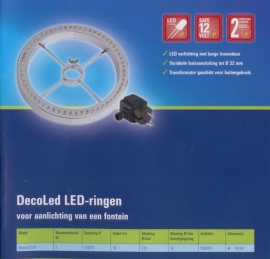 Decoled 220, for fountains and ornaments.