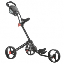 Dunlop 2 Click Golf Trolley (black frame)