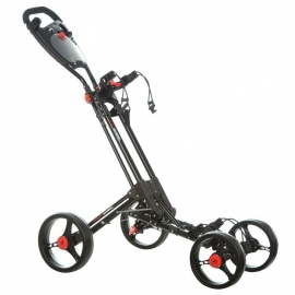 Dunlop 4 Wheel Golf Trolley (Black Frame)