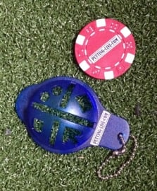 Ball marker (Pokerchips)  & Line marker