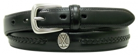 X-P3027 Black, Italian quality leather. PING