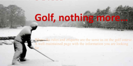 Golf, nothing more..:  You want to place a commercial.