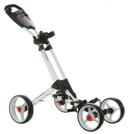 Dunlop 4 Wheel Golf Trolley (white frame)