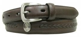 X-P3027 Brown, Italian quality leather. PING