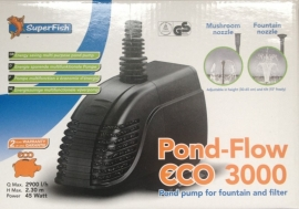 PUMP, Pond-Flow eco 3000ltr.