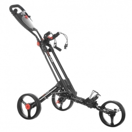 Dunlop 1 Click Golf Trolley (Black frame)