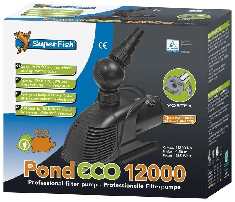 PUMP Pond Eco 12000 / 155 Watt