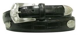 X-P3026 Black, Italian quality leather. PING