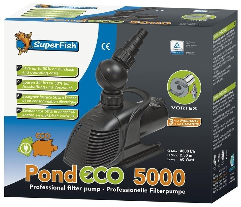 PUMP  Pond Eco 5000 / 60 Watt