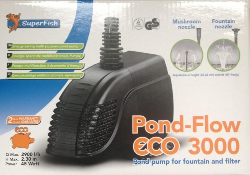 PUMP, Pond-Flow eco 3000ltr.