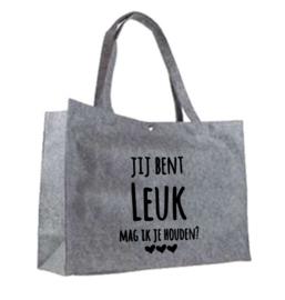 Ik vind je leuk tas