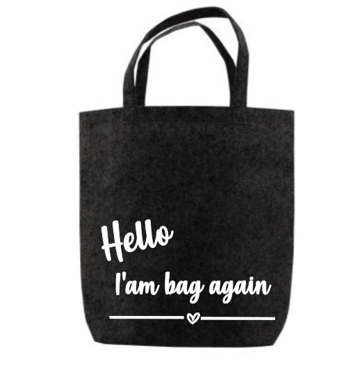 zwart i'am bag