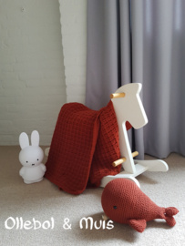 Gehaakte deken ledikantje