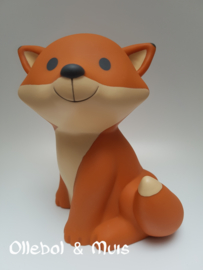 Money box Fox Cesar orange