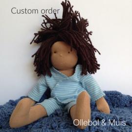 custom order popje 30 cm
