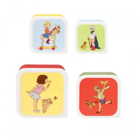 Belle & Boo Set mit 4 Snackschalen