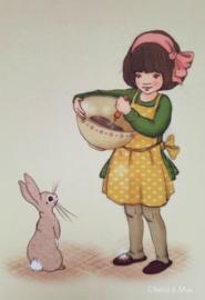 Belle & Boo ansichtkaart Baking