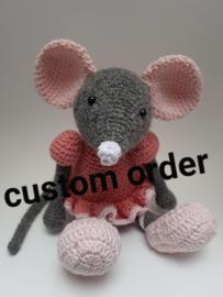 Custom order Ballerina Muis