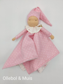 Blanket doll / doll with cuddly blanket