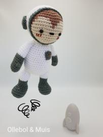 Cleo the astronaut