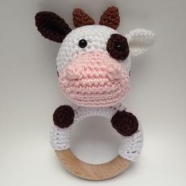 Rammelaar / bijtring koe