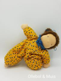 Soft doll Slappe Lijs  ocher yellow brown hair