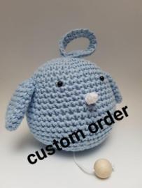Custom order Muziekdoosje vogeltje