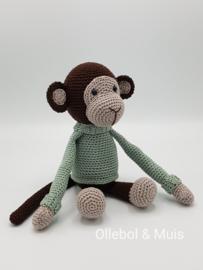 Gehaakte aap