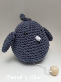 Spieluhr Vogel denimblau