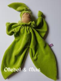 Green butterfly doll