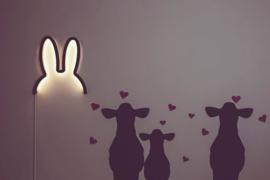 Miffy LED Mood light black