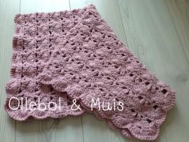 Crochet shawl / baby cloth