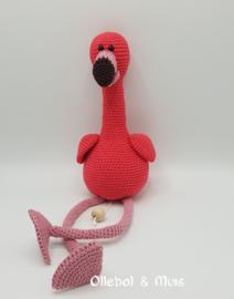 Muziekdoosje flamingo