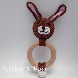 Rammelaar / bijtring konijn