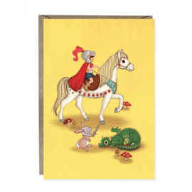 Greeting cards Belle & Boo Knights & Dragon