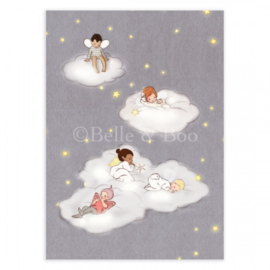 Belle & Boo ansichtkaart Sleeping Fairies