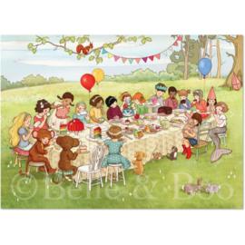 Belle & Boo ansichtkaart Woodland Feast