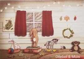 Belle & Boo ansichtkaart Window
