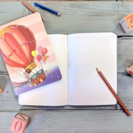 A5 Balloon notitieboekje