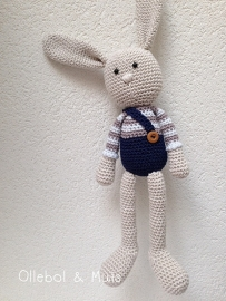 Crochet bunny boy