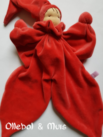 Red butterfly doll