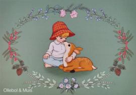 Ansichtkaart Belle & Boo Deer boy