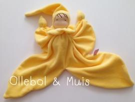 Vlinderpopje geel