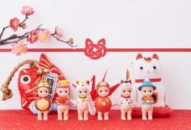 1 Sonny Angel uit Japanese Good Luck serie