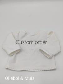 Custom order 5x t-shirts Puppe