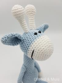 Crochet giraf ice-blue