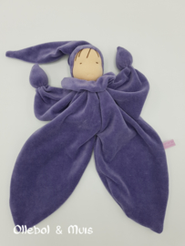 Butterfly doll lila / lavender purple